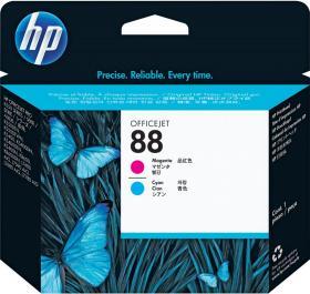Głowica HP C9382A nr 88, cyan (błękitny)/magenta (purpurowy)