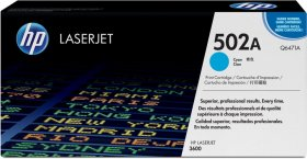Toner HP 502A (Q6471A), 4000 stron, cyan (błękitny)