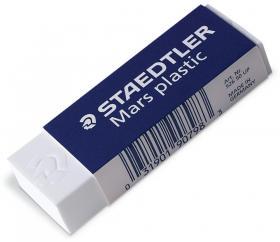 Gumka kreślarska Staedtler, 65x23x13mm, biały