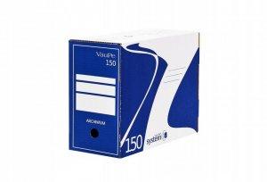 Pudło archiwizacyjne VauPe, do luźnych dokumentów, 150mm, niebieski