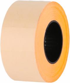 Taśma do metkownicy Studio Cen, 070 DT, 700 etykiet, 26x16mm, pomarańczowy