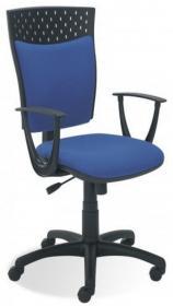 Krzesło obrotowe Nowy Styl Stillo 10, profil GTP, niebieski