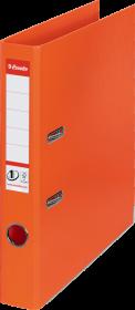Segregator Esselte No.1 Power, A4, szerokość grzbietu 50mm, do 350 kartek, pomarańczowy