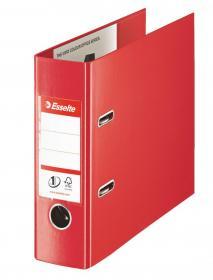 Segregator Esselte No.1 Vivida, bankowy, A5, szerokość grzbietu 75mm, do 500 kartek, czerwony