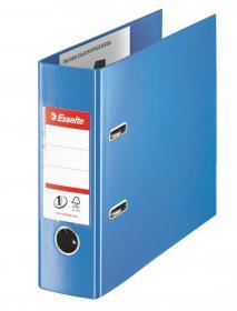 Segregator Esselte No.1 Vivida, bankowy, A5, szerokość grzbietu 75mm, do 500 kartek, niebieski