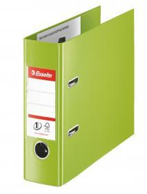 Segregator Esselte No.1 Vivida, bankowy, A5, szerokość grzbietu 75mm, do 500 kartek, zielony