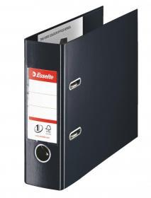 Segregator Esselte No.1 Vivida, bankowy, A5, szerokość grzbietu 75mm, do 500 kartek, czarny