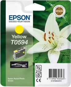 Tusz Epson T0594 (C13T05944010), 520 stron, yellow (żółty)