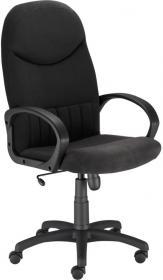 Fotel gabinetowy Nowy Styl Model 8000, welur, czarny