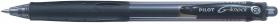 Długopis żelowy Pilot, G-knock Begreen, 0.5 mm, czarny