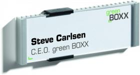 Tabliczka informacyjna Durable Info Sign, 149x52.5mm, srebrny