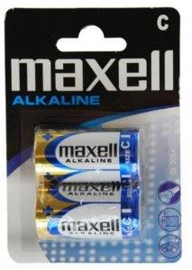 Bateria alkaliczna Maxell, C LR14, 2 sztuki