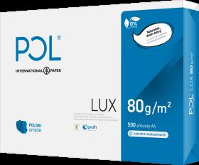 Papier ksero Pollux, A4, 80g/m2, 500 arkuszy, biały