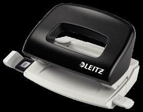 Dziurkacz mały Leitz 5058, do 10 kartek, czarny