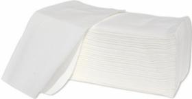 Ręcznik papierowy Papyrus, jednowarstwowy, w składce ZZ, 200 składek, biały