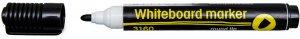Marker suchościeralny D.Rect, 3160, okrągła, 1-3mm, czarny