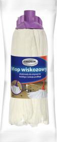 Mop wiskozowy Grosik, biały - końcówka