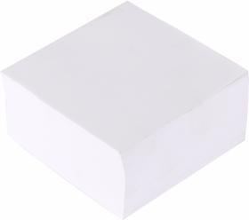Kostka do notowania Barbara, klejona, 85x85x45mm, 500 kartek, biały