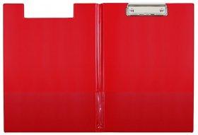 Podkład do pisania Biurfol (clipboard) z okładką, A4, czerwony