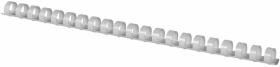 Grzbiety do bindowania Argo, plastik, 12.5mm, 100 sztuk, biały