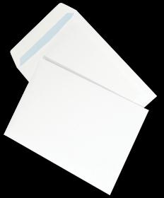 Koperta standardowa NC, B5, samoklejąca SK, 500 sztuk, biały