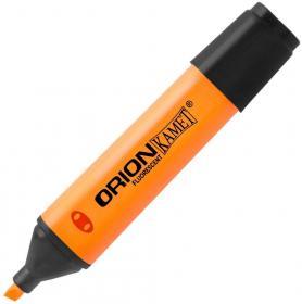 Zakreślacz Kamet, Orion, ścięta, pomarańczowy