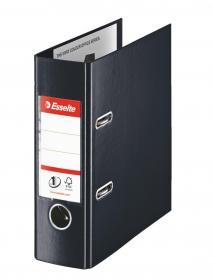 Segregator Esselte No.1 Power, A5, szerokość grzbietu 75mm, do 500 kartek czarny