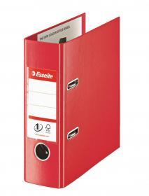 Segregator Esselte No.1 Power, A5, szerokość grzbietu 75mm, do 500 kartek, czerwony