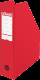 Pojemnik PCV na dokumenty składany Esselte, A4, 70mm, do 700 kartek, czerwony
