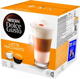 Kawa w kapsułkach Nescafé Dolce Gusto Latte Macchiato, 16 sztuk