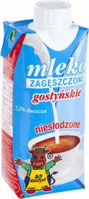 Mleko zagęszczone niesłodzone Gostyń, 7.5%, 350g