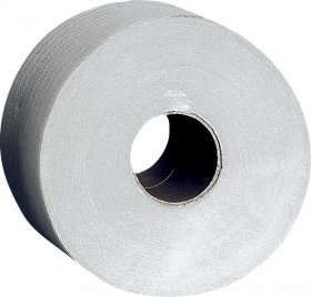 Papier toaletowy Jumbo Clean&Clever, 1-warstwowy, 200m, 1 sztuka, szary