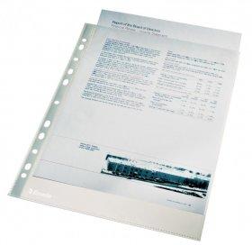 Koszulki krystaliczne Esselte, A4, 105µm, 100sztuk, transparentny