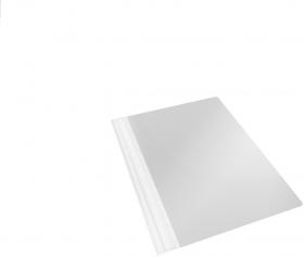 Skoroszyt plastikowy bez oczek Esselte Vivida, A4, do 160 kartek, szary