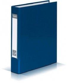 Segregator VauPe, A5, szerokość grzbietu 40mm, 4 ringi, niebieski