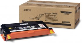 Toner Xerox (113R00725), 6000 stron, yellow (żółty)
