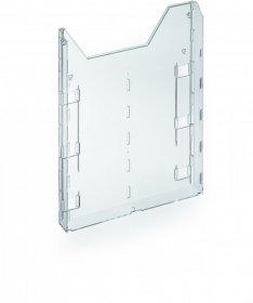 Pojemnik dodatkowy do rozbudowy Durable Combiboxx, A4, przezroczysty