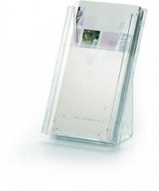 Pojemnik na prospekty Durable Combiboxx, 1/3 A4, przezroczysty