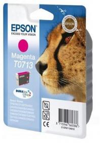Tusz Epson T0713 (C13T071340), 5.5ml, magenta (purpurowy)