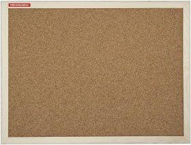 Tablica korkowa Memoboards, w ramie drewnianej, 90x120cm, brązowy