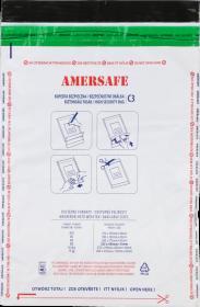 Koperta bezpieczna Amersafe, C3, z paskiem HK, 50 sztuk, szary