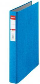Segregator Esselte, A4, szerokość grzbietu 42mm, do 190 kartek, 2 ringi, niebieski