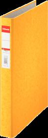 Segregator Esselte, A4, szerokość grzbietu 35mm, do 190 kartek, 2 ringi, żółty