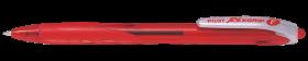 Długopis automatyczny Pilot, Rexgrip F, 0.21mm, czerwony