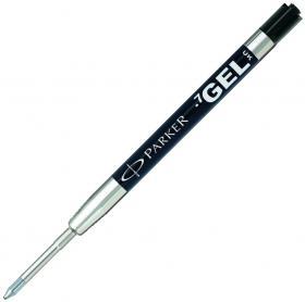 Wkład do długopisu Parker, M, żelowy, czarny
