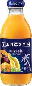 Sok multiwitamina Tarczyn, butelka szklana, 0.3l