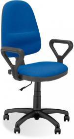 Krzesło obrotowe Nowy Styl Prestige C14, profil GTP, niebieski