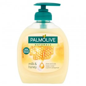 Mydło w płynie Palmolive, z dozownikiem, mleko i miód, 300ml