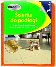 Ścierka do podłogi Grosik, 50x60cm, pomarańczowy
