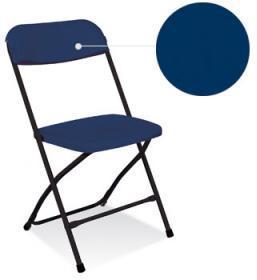 Krzesło składane Nowy Styl Polyfold, granatowy